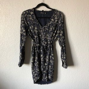 Obey long sleeve button down dress!